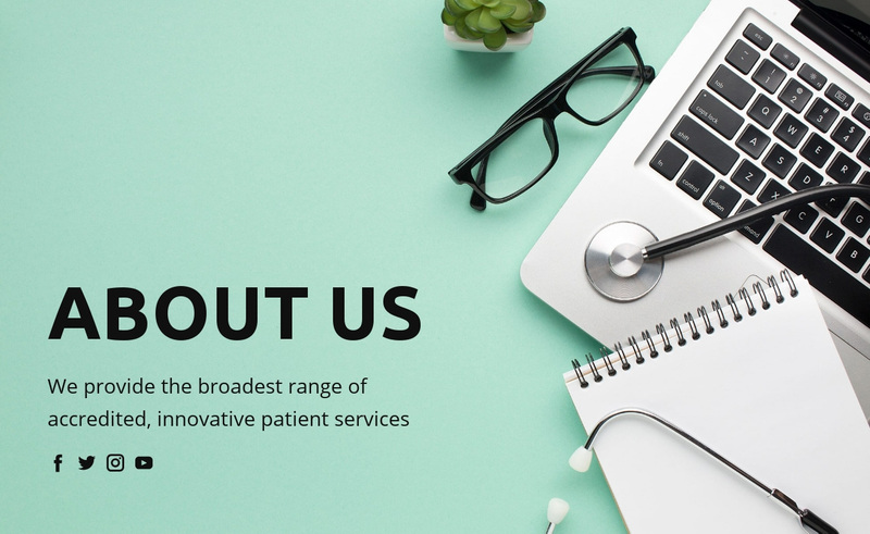 About healthcare and medicine Web Page Design