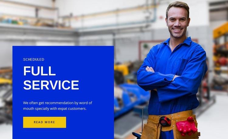 Full service  Website Builder Software