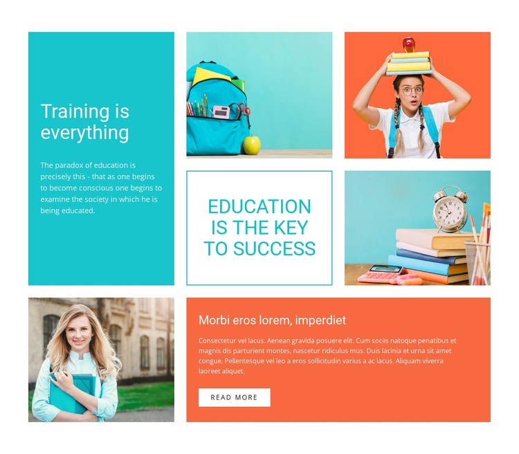 Engage your child in coding CSS Template