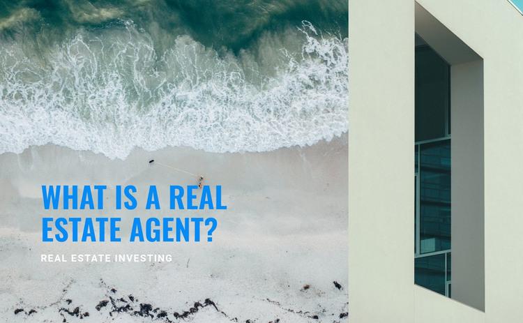Real estate broker HTML Template
