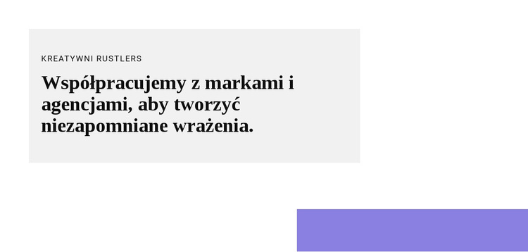 Grupuj z tekstem i kształtem Szablon witryny sieci Web