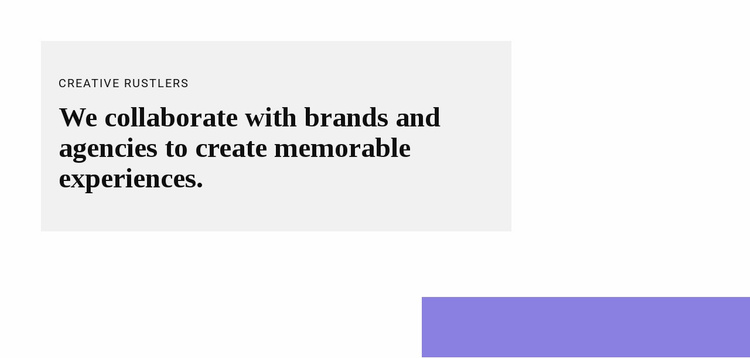 Group with text and shape Website Template
