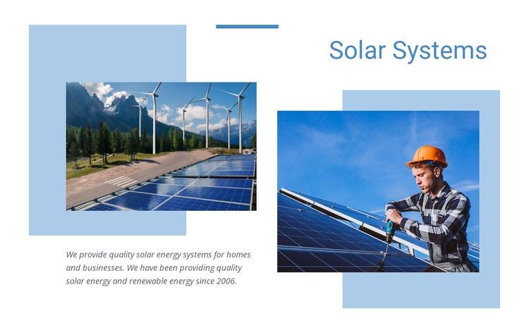 Quality solar energy WordPress Template