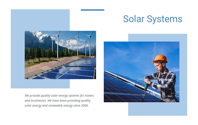 Quality solar energy WordPress Theme