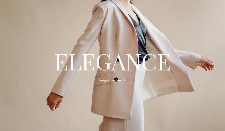 Elegance in everything Web Page Designer