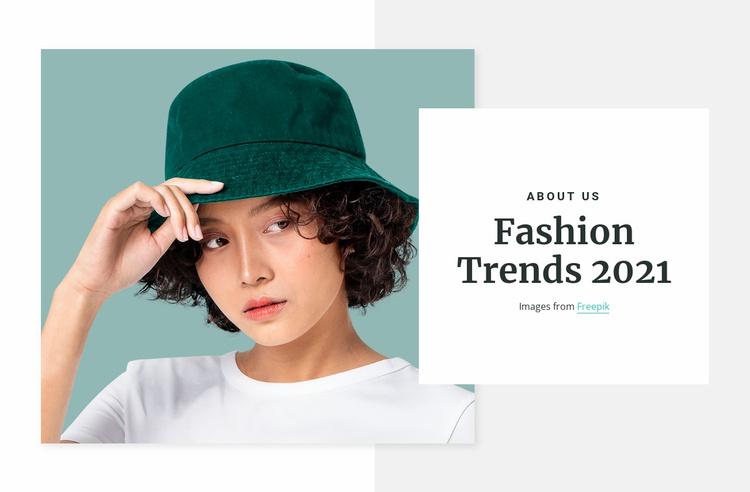 Panamas in trend Website Template