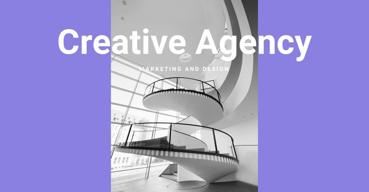 The creativity of our agency Web Page Designer