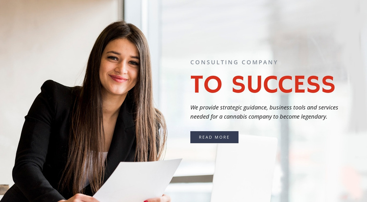 Business process services Website Template