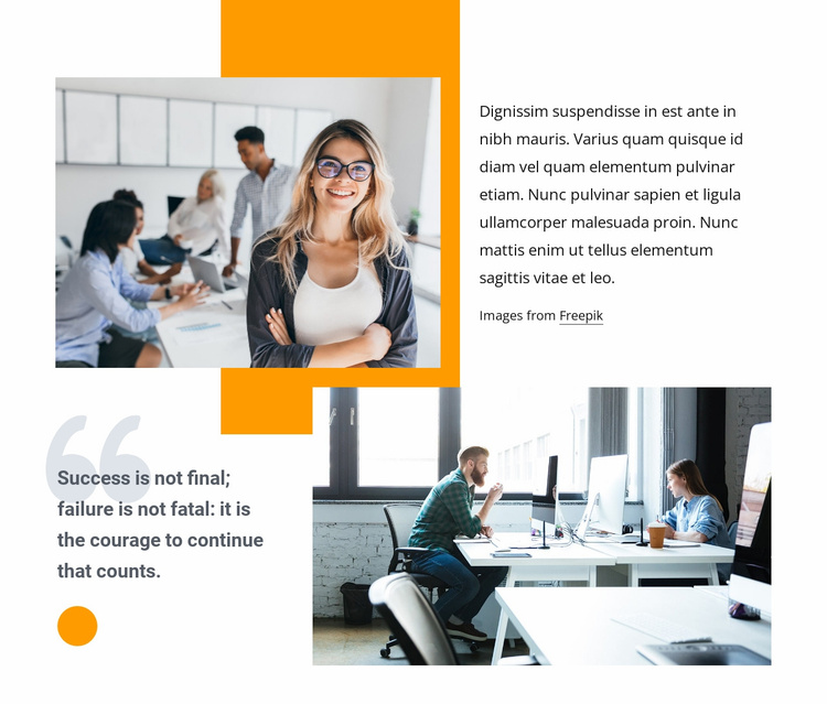 We mitigate risk and accelerate growth Website Template