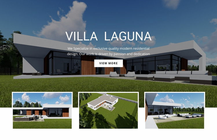 Smart design for new retail Html Website Builder