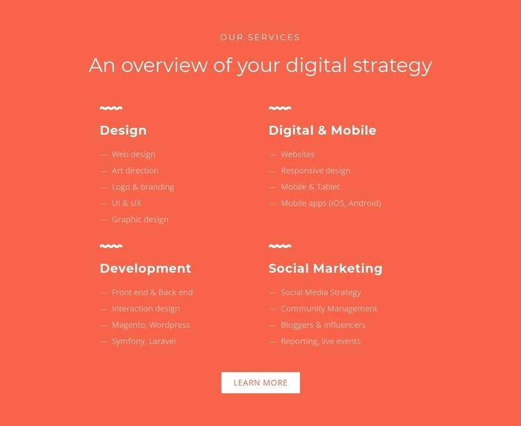 Design, development, marketing Web Page Designer