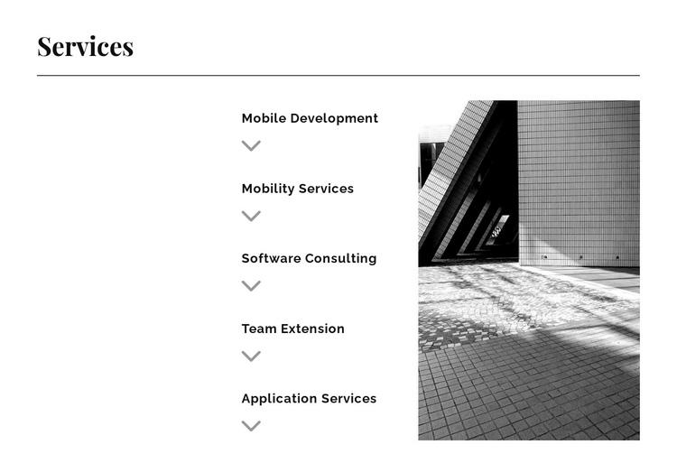 Five directions Website Builder Software