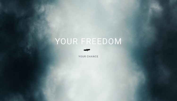 your freedom  CSS Template