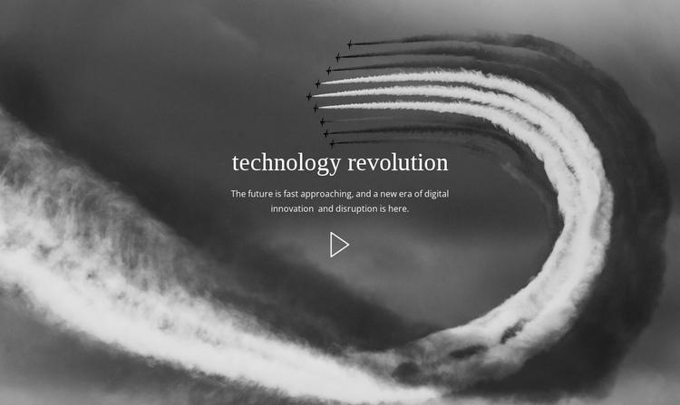 Technology  revolution Website Builder Software