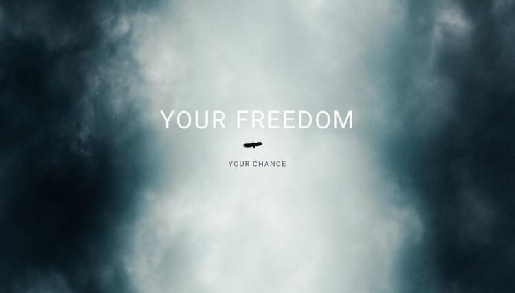 your freedom  Website Design