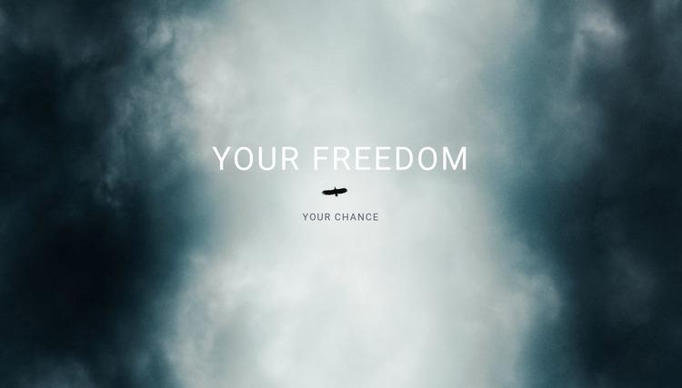 your freedom  WordPress Website Builder