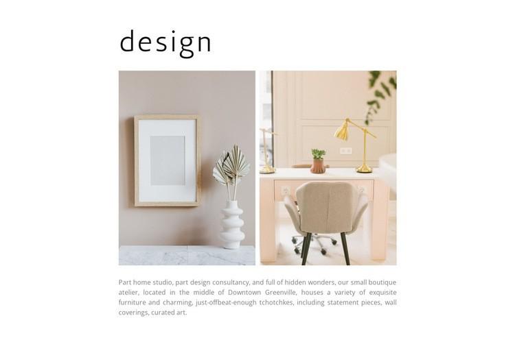Designer things Web Page Designer