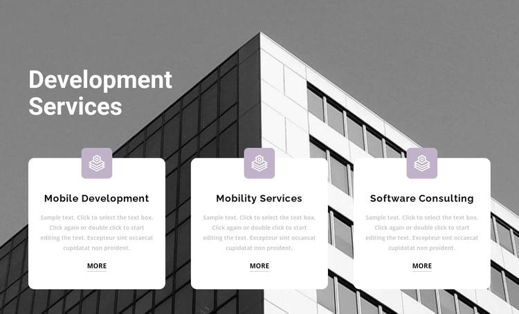 Three points at work Website Builder Software