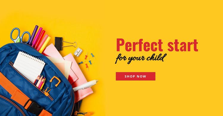 Good parenting tips Website Template