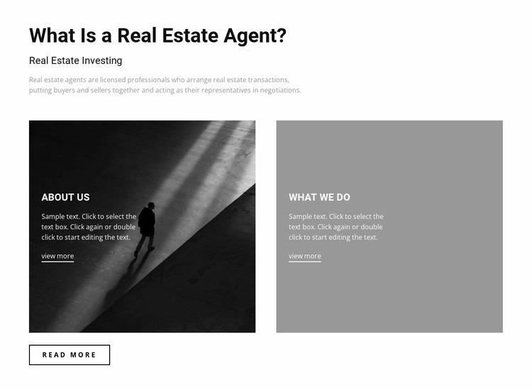 Property For Sale Web Page Designer