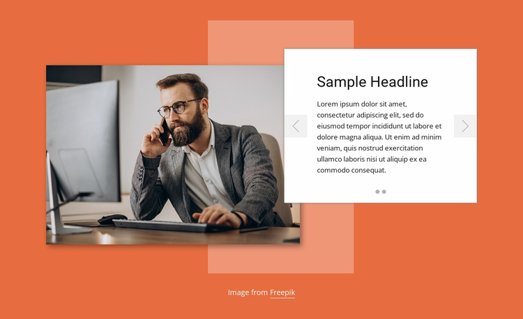 Planning solution Website Template