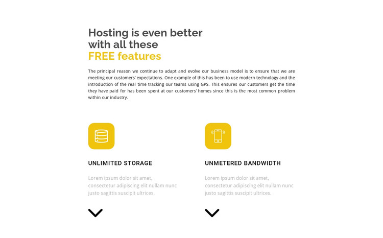Two important directions HTML Template