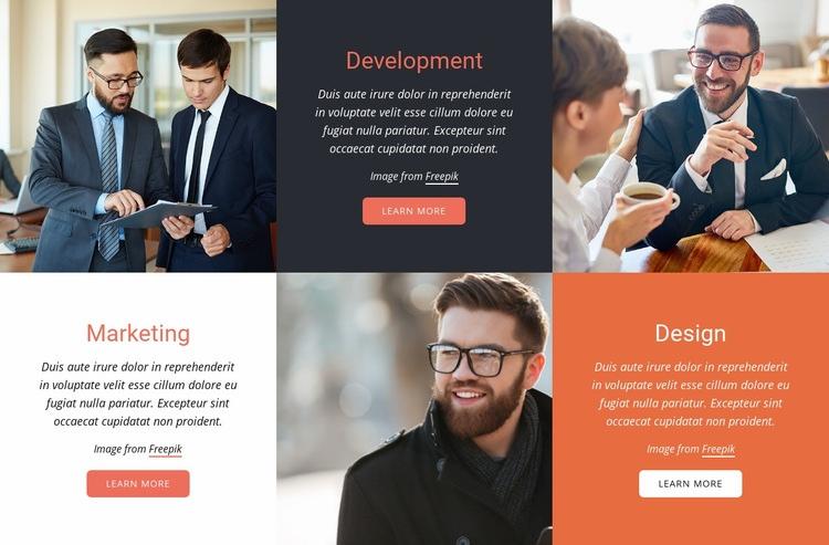 Streamline collaboration Web Page Design