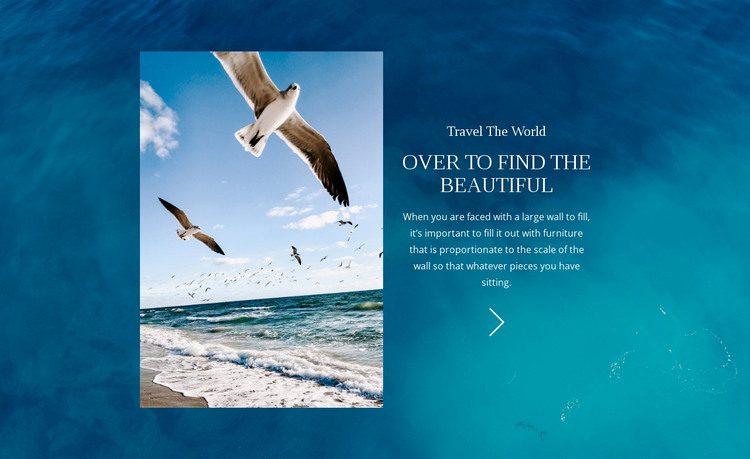 Travel The World HTML Template