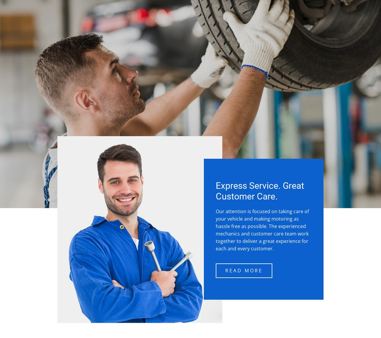 Vehicle breakdown and recovery HTML Template