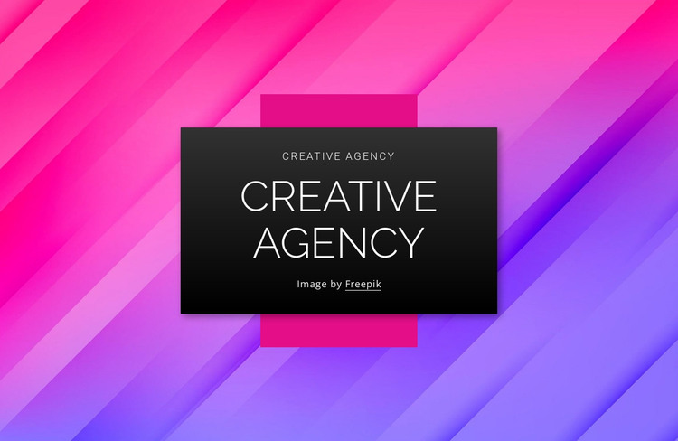 Branding design content agency HTML Template
