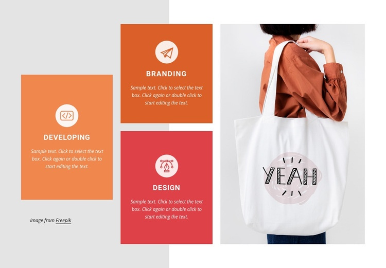 Branding and marketing Homepage Design