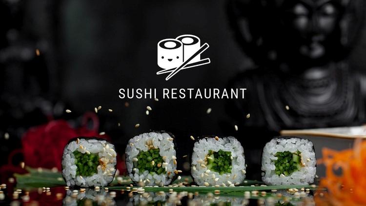 Sushi restaurant Html Code Example
