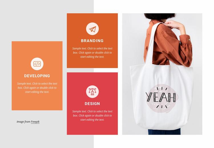 Branding and marketing Website Template