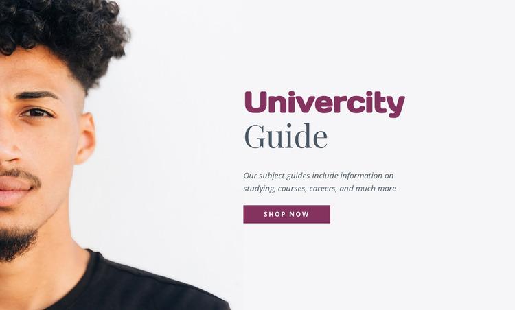 Univercity guide WordPress Website Builder