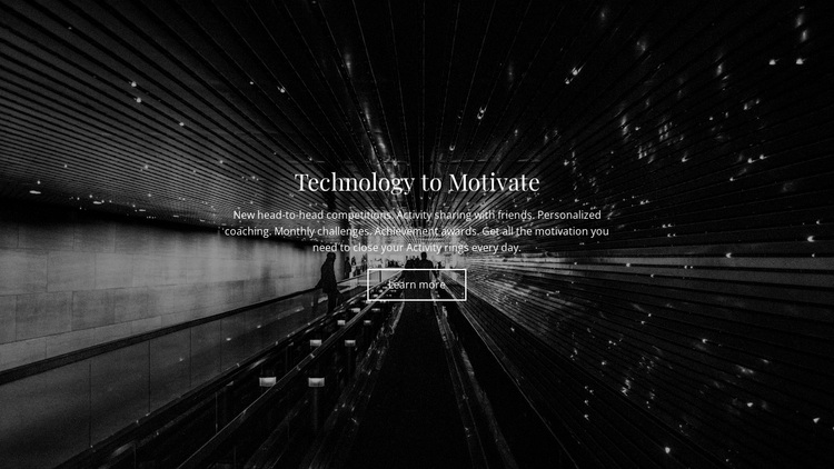 Technology Motivate Joomla Page Builder