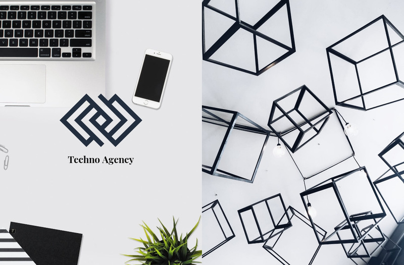 Techno Agency Web Page Designer