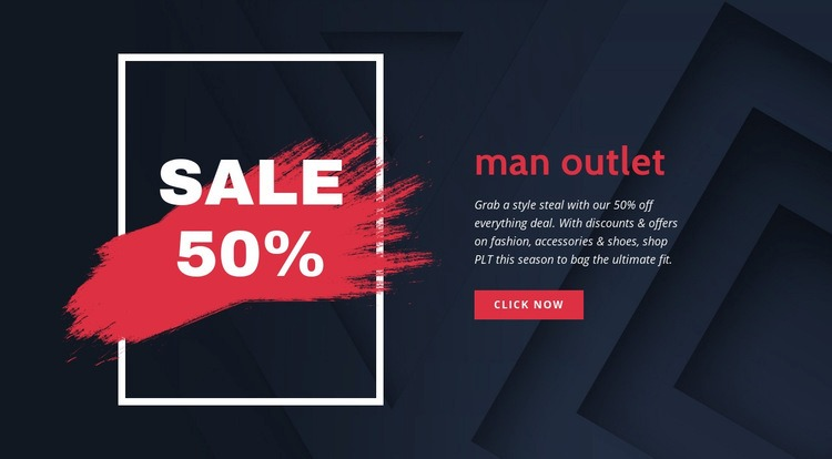 Outlet online Html Code Example