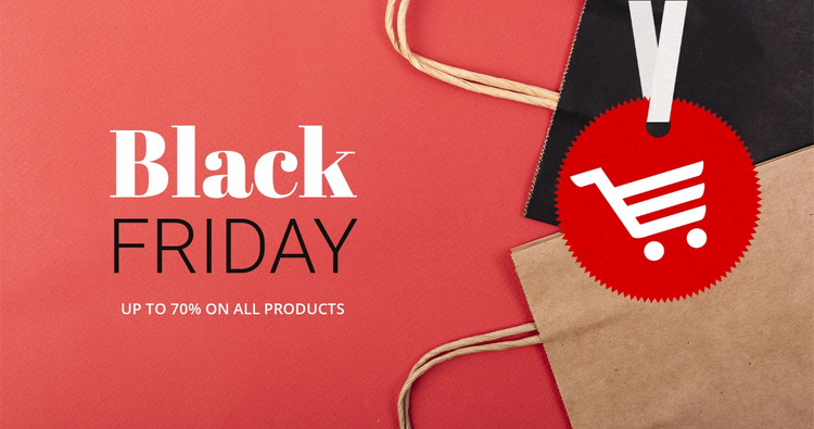 Best black friday deals Html Website Builder