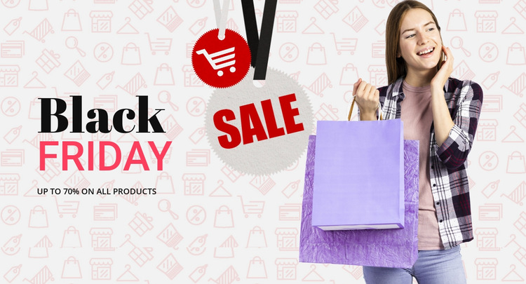 Get amazing shopping deals HTML5 Template