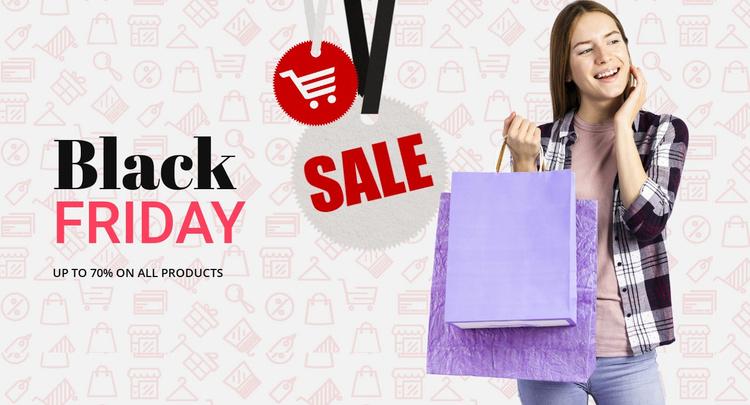 Get amazing shopping deals Website Template