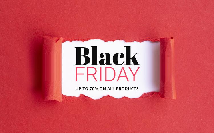 Shop special offers and deals Website Builder