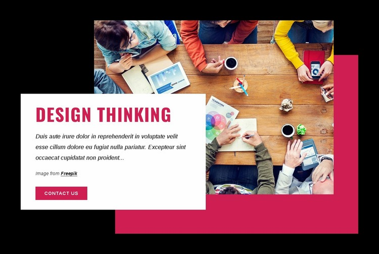 Design thinking courses Html Code Example