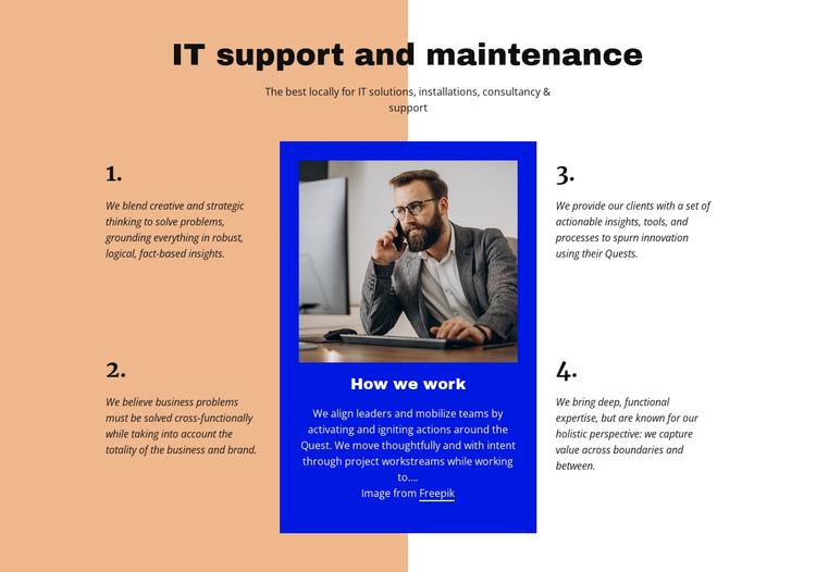 It support Website Builder Software