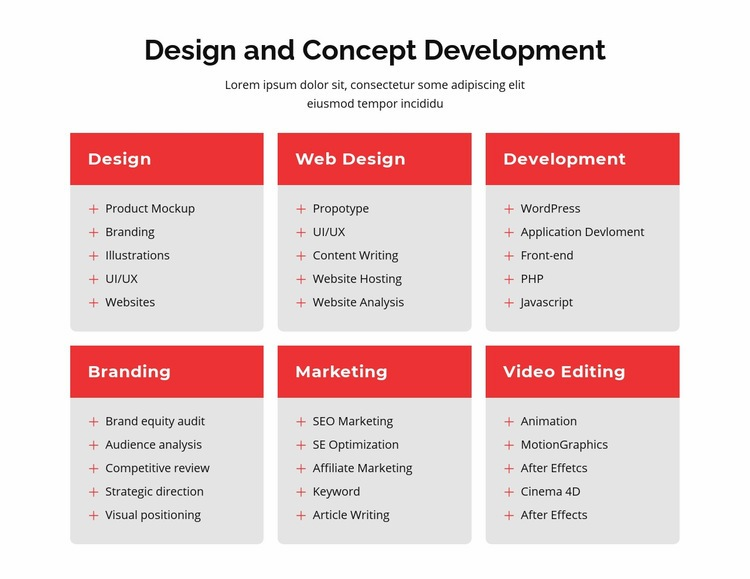 Branding and web design Html Code Example