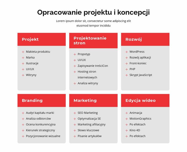 Branding i projektowanie stron internetowych Szablon Joomla