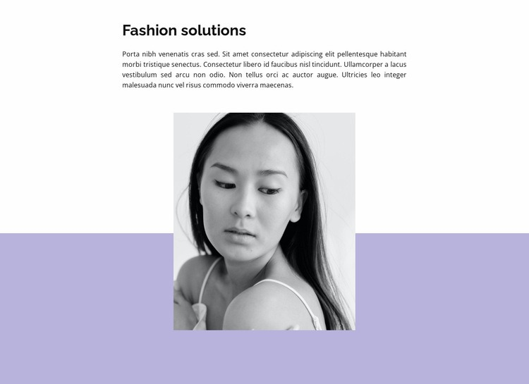 Comments from fashion critics Web Page Design