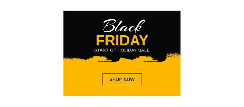 Black Friday Sale Squarespace Template Alternative