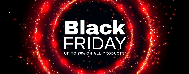 Black Friday prices on tech Web Page Design