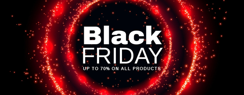 Black Friday prices on tech Website Maker