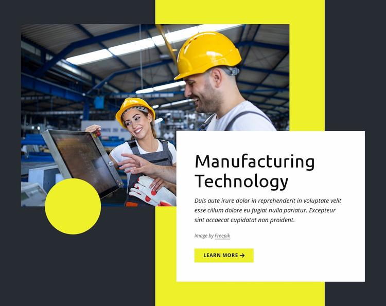 Modern methods Website Template